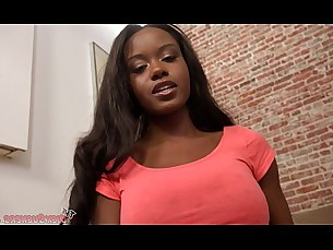ebony,blowjob,deepthroat,busty,pov